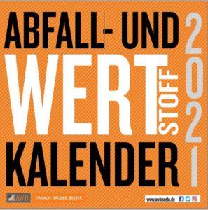 Abfallkalender 2021 Köln
