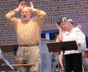 Norbert Kentrup und Dagmar Papula (Foto: Drew)